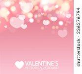 Valentine\'s Day. Shining Heart...
