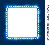 shining retro square banner. ... | Shutterstock .eps vector #236276929