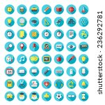 school and education icons set... | Shutterstock .eps vector #236292781