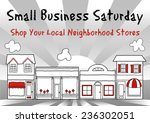 small business saturday usa... | Shutterstock .eps vector #236302051
