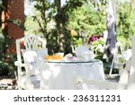 afternoon tea and cakes and... | Shutterstock . vector #236311231