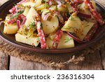 Salad Of Boiled Potatoes With...