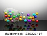 3d rendering of a lot of... | Shutterstock . vector #236321419
