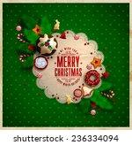 Christmas  Frame With Christmas ...