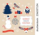 christmas graphic design... | Shutterstock .eps vector #236337154