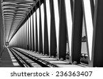 railway metal bridge... | Shutterstock . vector #236363407