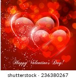 valentine's day vector... | Shutterstock .eps vector #236380267