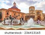 Valencia Spain  Sept 10 Square...