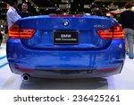 Постер, плакат: BMW 420I Convertible car