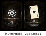 casino background vintage style ... | Shutterstock .eps vector #236435611