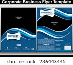 corporate business flyer... | Shutterstock .eps vector #236448445