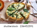 Pie With Spinach And Feta...