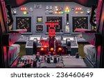 cockpit of an homemade flight... | Shutterstock . vector #236460649