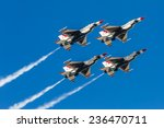 Usaf thunderbirds perform air...