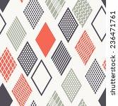 vector seamless pattern. modern ...   Shutterstock .eps vector #236471761