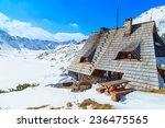 A Landscape With A Mountain Hu...