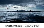 A Dark Stormy Sky Over Peacefu...