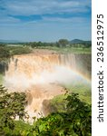 Small photo of Tiss abay Falls on the Blue Nile river, Ethiopia