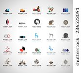 museum icons set   isolated on... | Shutterstock .eps vector #236523091