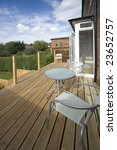 house with wooden decking and... | Shutterstock . vector #23652757