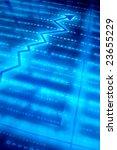 blue data space   Shutterstock . vector #23655229