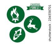 camping design | Shutterstock .eps vector #236558701