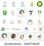 set of branding company logo... | Shutterstock .eps vector #236574625