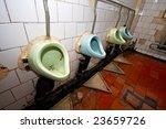 Aging Dirty Public Lavatory