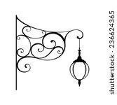 street lamp   Shutterstock .eps vector #236624365