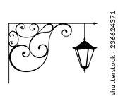 street lamp | Shutterstock .eps vector #236624371