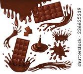 sweets dessert food milk...   Shutterstock . vector #236625319