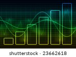 finance spreadsheet chart data... | Shutterstock . vector #23662618