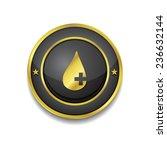 health kit gold vector icon...   Shutterstock .eps vector #236632144