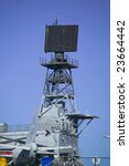 Small photo of SPS-48 Air Search Radar on an American Aircraft Carrier