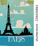Vintage Style Paris Travel...