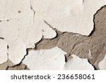 Background Of Wall With Peeled...