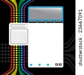 a simple website template . | Shutterstock . vector #23667091
