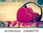 Couple Red Heart  Music Of Love