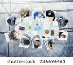 brainstorming planning... | Shutterstock . vector #236696461