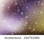 snowflakes background | Shutterstock .eps vector #236701084