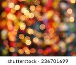 defocused bokeh lights... | Shutterstock . vector #236701699