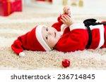 Cute Baby Boy Weared Christmas...