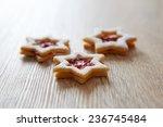 Stars Christmas Linzer Cookies...