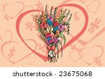 love s flowers | Shutterstock .eps vector #23675068