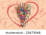love s flowers | Shutterstock .eps vector #23675068