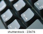 close up of keyboard shallow... | Shutterstock . vector #23676