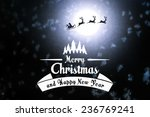merry christmas and new year... | Shutterstock . vector #236769241