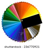 color swatch isolated with