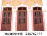 phuket old town   sino style... | Shutterstock . vector #236782444