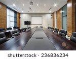 modern office meeting room... | Shutterstock . vector #236836234